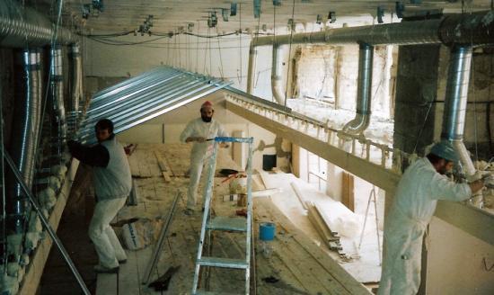 Le chantier de Staff
