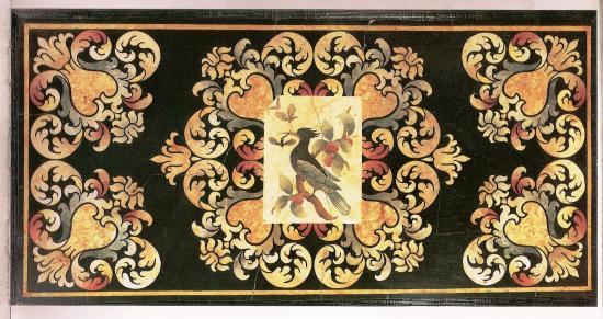 Scagliola Florentine fin 17eme siècle